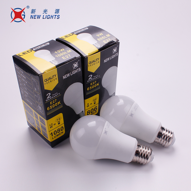 Wholesale 5w 9w 12w SMD Plastic Led Light Bulb A60, Led Lamp Bulb E26 E27