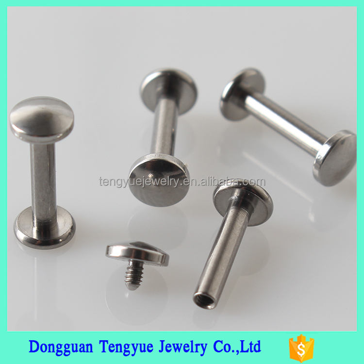 G23 Titanium Labret Stud/ Magnetic Lip Piercing/ Fancy Nose Ring/ Fashion Ear Jewelry
