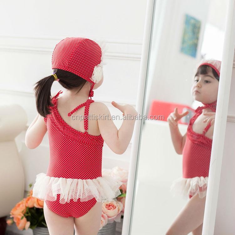 Pola Balet One Piece Swimsuit Bayi Perempuan Anak Air