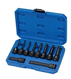 "10PCS 1/2""DR. STAR IMPACT SOCKET BIT SET (impact extension bar)"