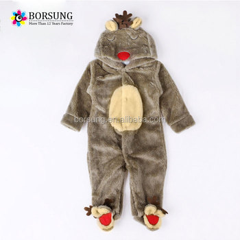 Hot Sale New Baby Boy Christmas Clothes Cute Baby Romper Winter