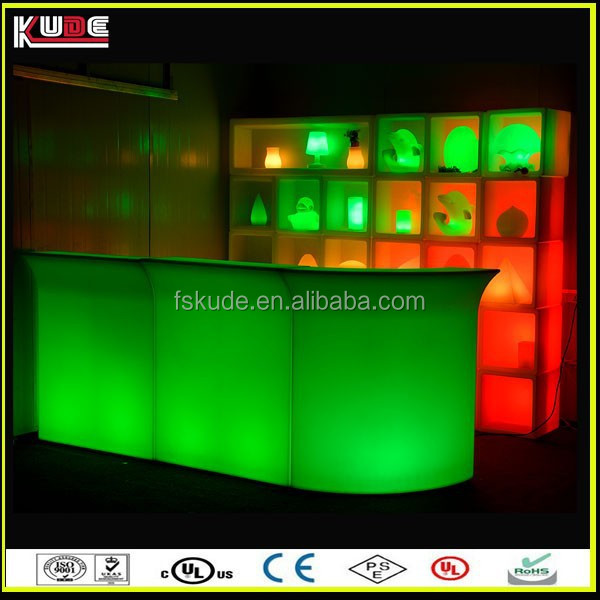 new products nightclub glow led mobile bar for wholesale