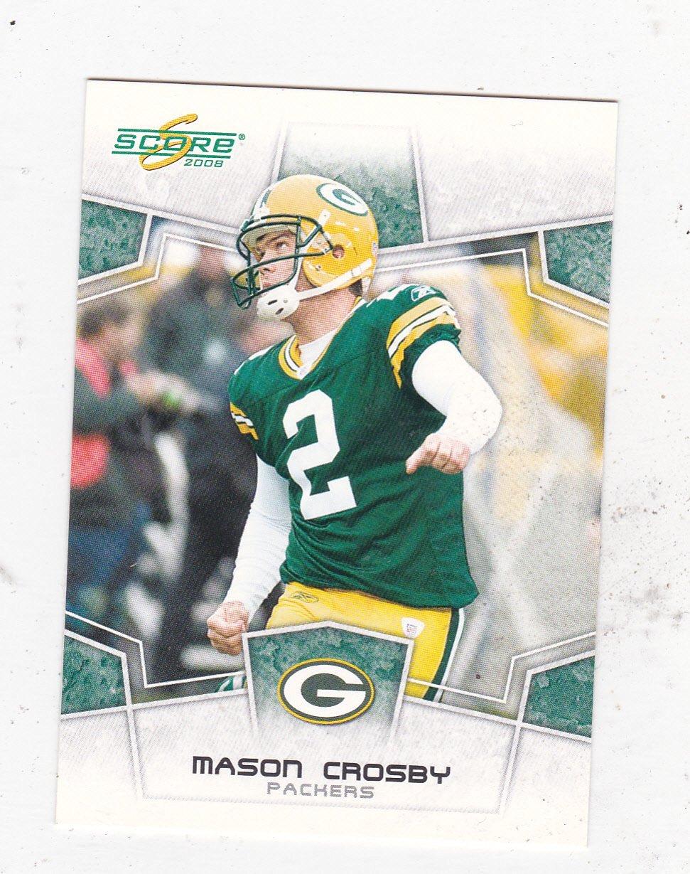2008 Score #116 Mason Crosby - K - Green Bay Packers (Football Cards)