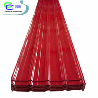 Colorful roof tile rapid construction sheet metal building materials/ Prepainted embossed galvanized steel sheet