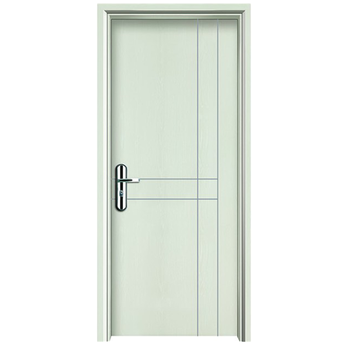 White Modern Bedroom WPC Doors Design