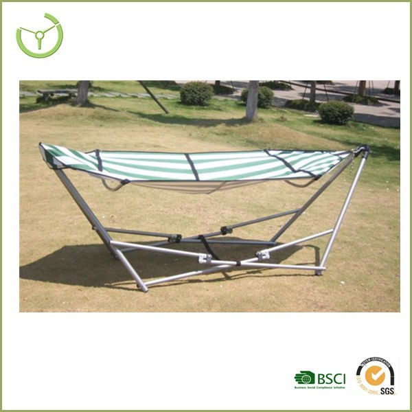 2016 modern outdoor patio swing chairs/wooden hammock stand