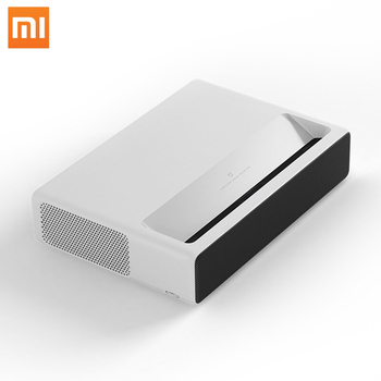 Xiaomi Ultra Short Throw Android Full HD 1080P 3D Laser DLP Projector with 1920*1080p Native Resolution 4000 Lumens IR Sensor