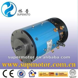 4kw 60v electric car/carrier/sweeper dc motor