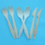 Disposable Wooden Cutlery Set Spoon Fork Knife And Paper