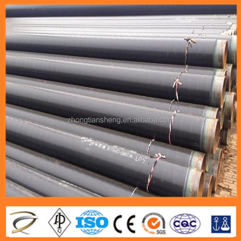 CHINA TOP QUALITY ST35 to ST52 3 layer polyethylene coating steel pipe