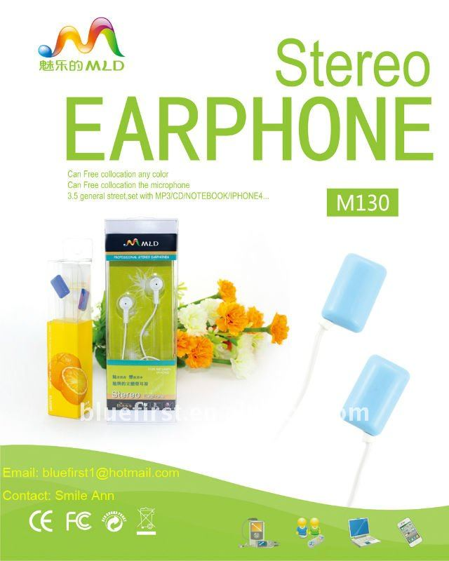 Colourful music MP3 headphones/earphones/headsets/earbuds