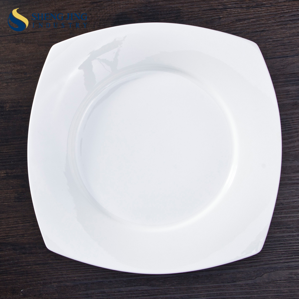 Unique Porcelain Charger Plate Ceramic Side Dishes Custom Printed Tableware For Dinner