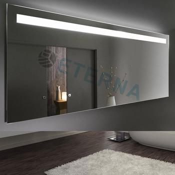 eterna illuminated led backlit hotel full length vanity bathroom mirror
