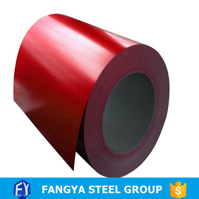 FACO Steel Group steel coil color coating line ral9003 galvanized steel sheet