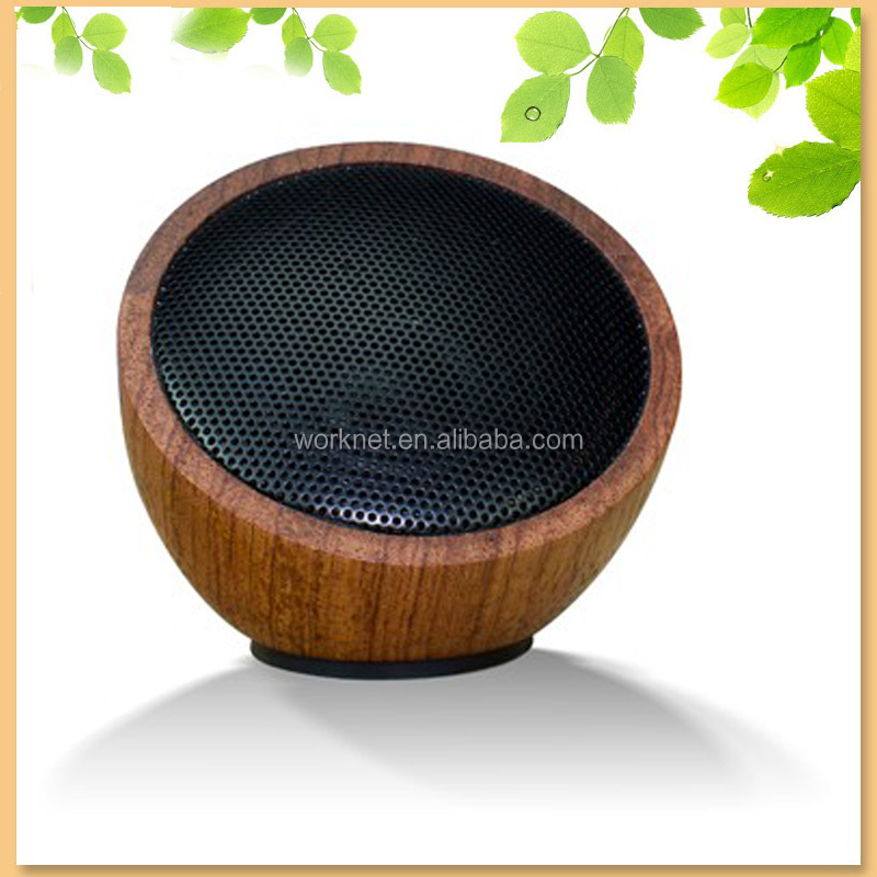 2015 new design <strong>portable</strong> rose wood mini bluetooth speaker