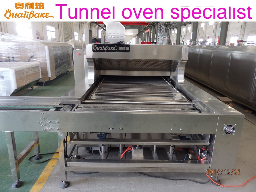 Professional manufacturer of food production line offers automatic gas tunnel baking oven with best solution