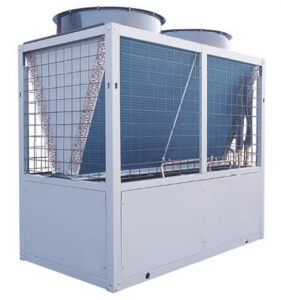 air source heat pump air cooled modular water chiller