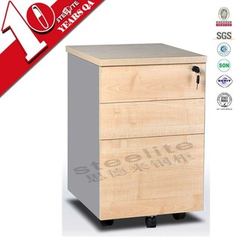 Top 10 Cabinet Manufacturers Pigeon Hole Office Wooden 3 Drawer Movable  File Cabinet Direct From China