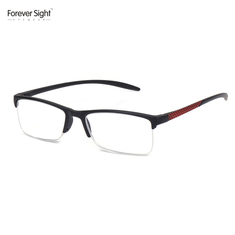 2018New Half Rimless Plastic Unbreakable Mini Reading Glasses By Manufacturers China