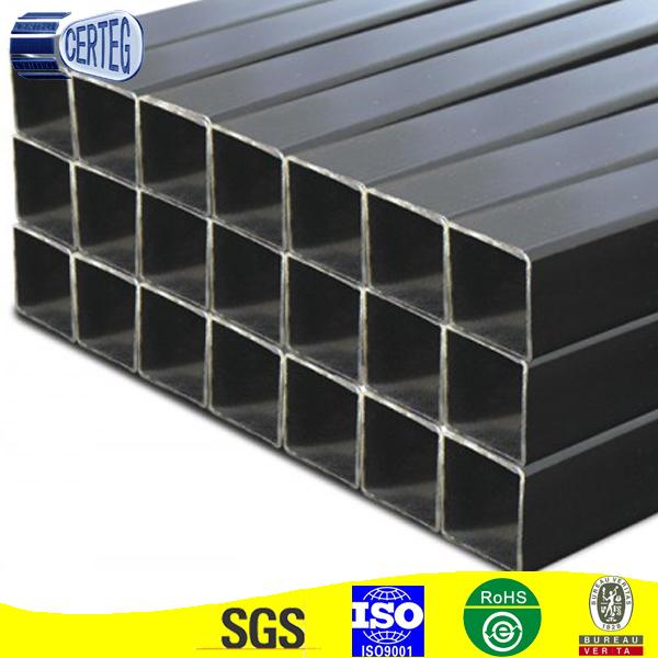 50x50 acero al carbono tubo de acero tubo cuadrado - Tubo cuadrado acero ...