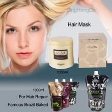 Яичная касторовая маска для волос
