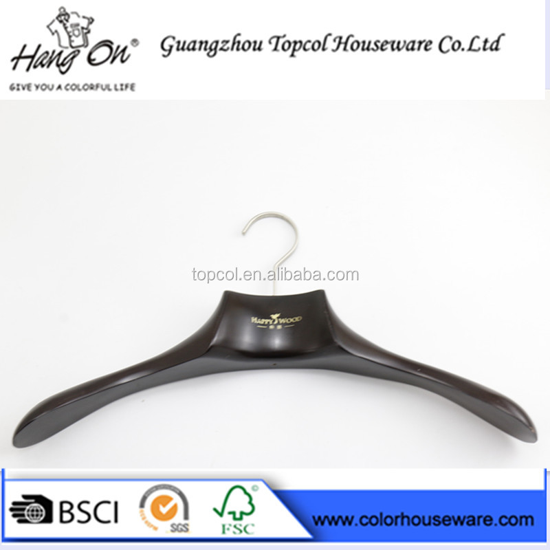 High Quality Luxury Wooden Hanger,Wooden Clothes Hanger for Sale