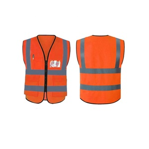 Hot Sale Blue Color Reflective Vest Safety