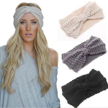 Domil Wholesale Crochet Headband Knit Latest Hairband Designs Winter