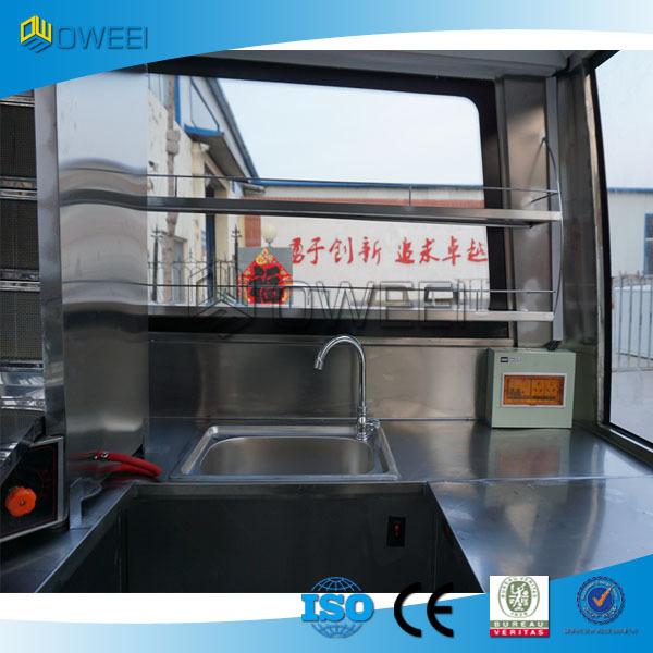 Food Truck Customization Steel
