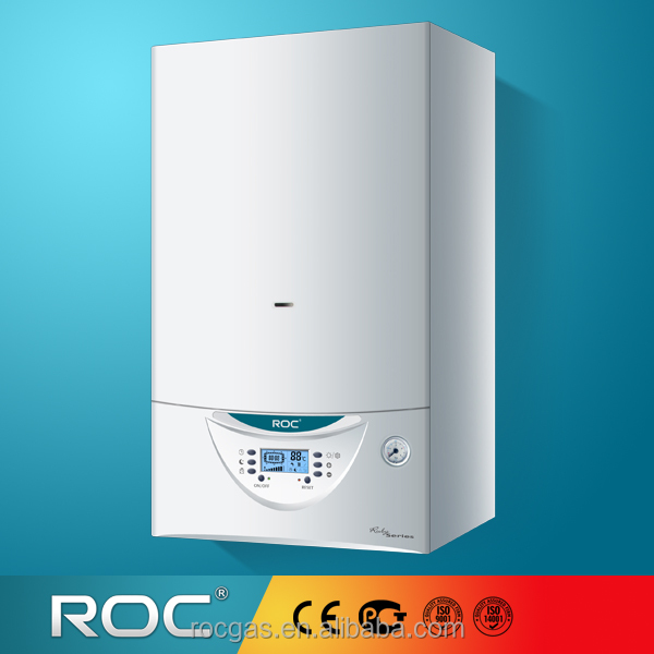 ROC Wall mounted gas boiler(Ruby series), Gas Heating and Hot Water Boiler with CE from China