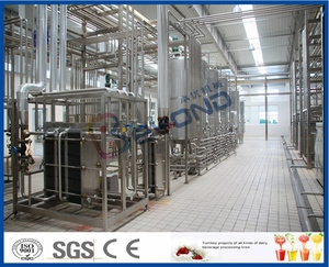 ayran with mint making machine, aryan with mint processing line, aryan production line