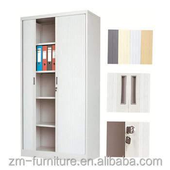 PP Rolling Two Door Metal Filing Cupboard