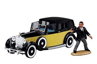 James Bond Rolls Royce & Odd Job Figure