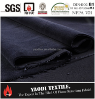 Trevira Fire Retardant Velvet fabric for stage curtain