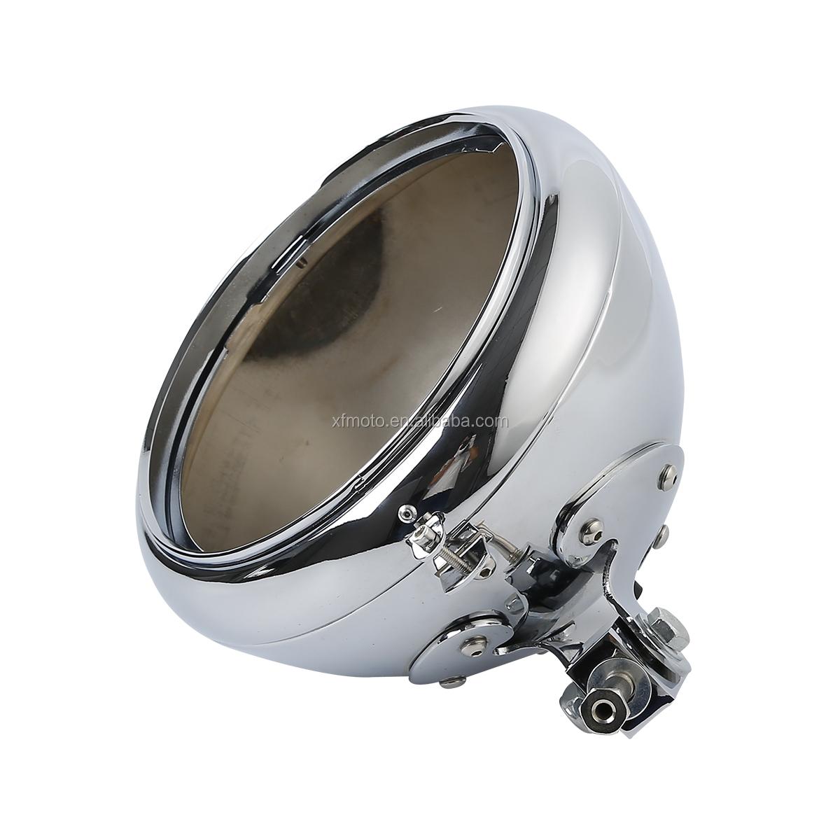 Harley Davidson FLST Headlight Shell Assembly 67789-91A W// Block Mount