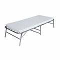 Travel Folding Camping Bed Metal Iron Folding Single Bed