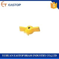 High Quality Brass Ball Valve Low Price Butterfly Handle Spare Parts