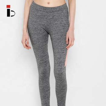 China manufacturer wholesale high quality rapid dry women grey gym leggings