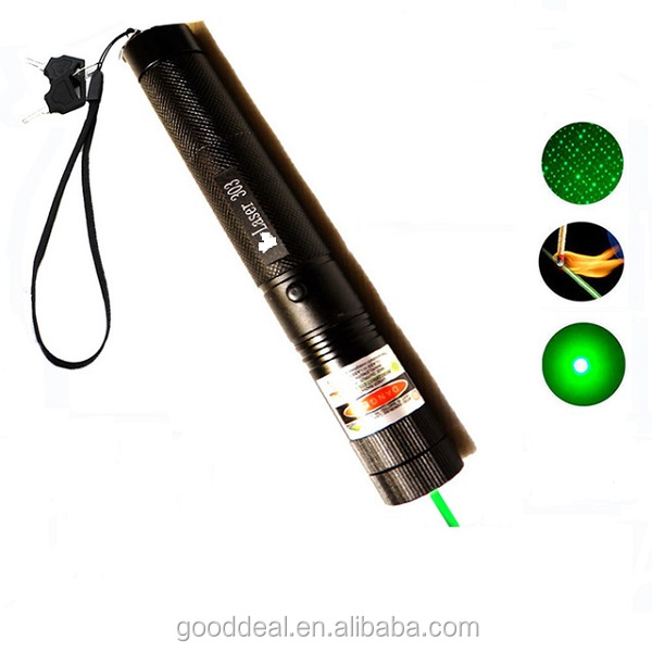 Adjustable Focus Burning 532nm 5mw Green Laser Pointer 303