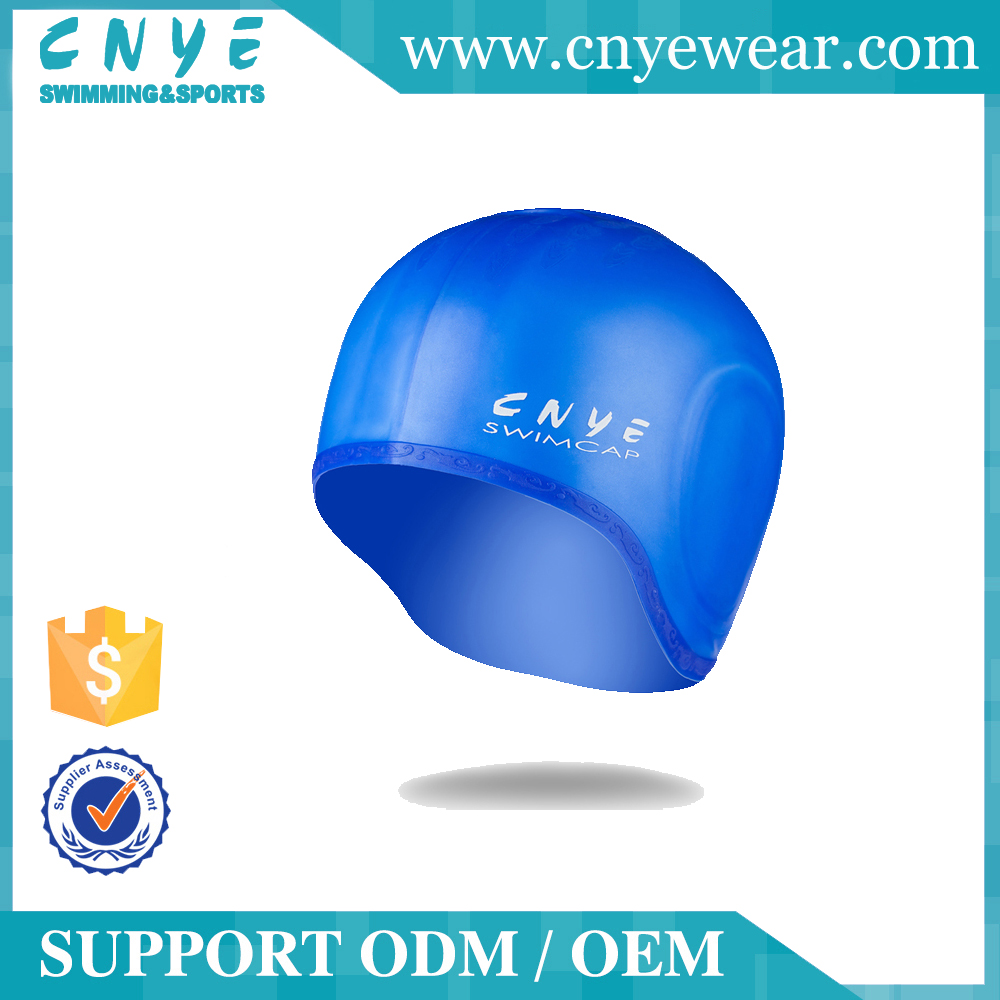 Custom Cool Cheap Novelty Silicone Swimming Cap