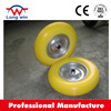 utility puncture Proof solid wheel barrow PU tire