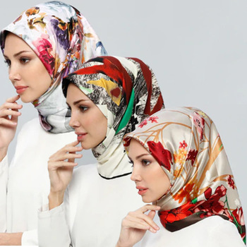 Free Shipping Fashion Style Malaysia Chiffon Silk Display Oem Scarf For Women