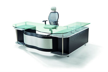 modern office desk for sale. 2014 hot sale office furniture tempered glass modern executive desk for