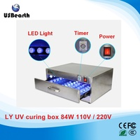 2016 new LY UV curing box 84W 110V-220V, UV curving light for lcd repair Nail