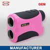 6*24 400m Laser rangefinder with pinseeking and slope measure function folding travel golf bag
