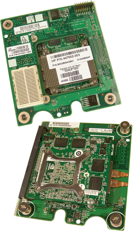 HP 256MB FX1600 Mxm Mezanine Video Card 458937-001