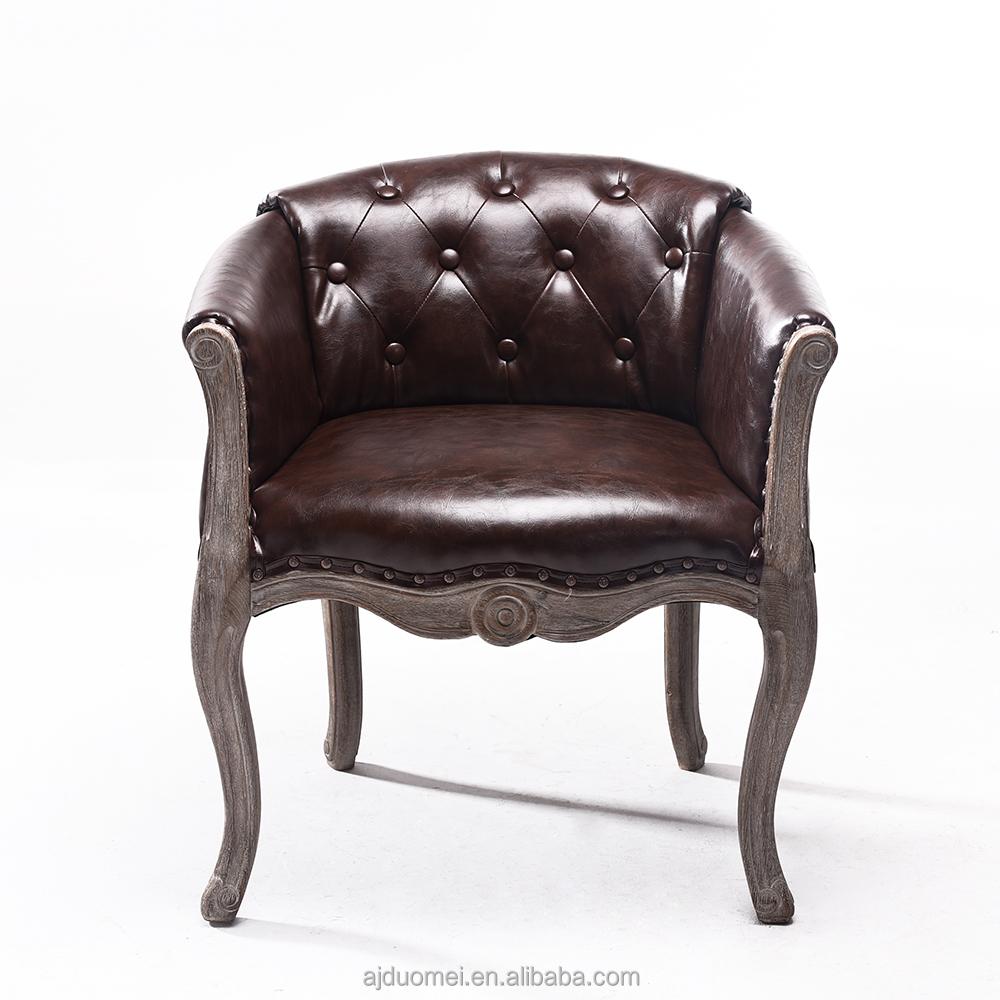 Gros en bois chaise de salle manger salle de tissu for Chaise pour salle a diner