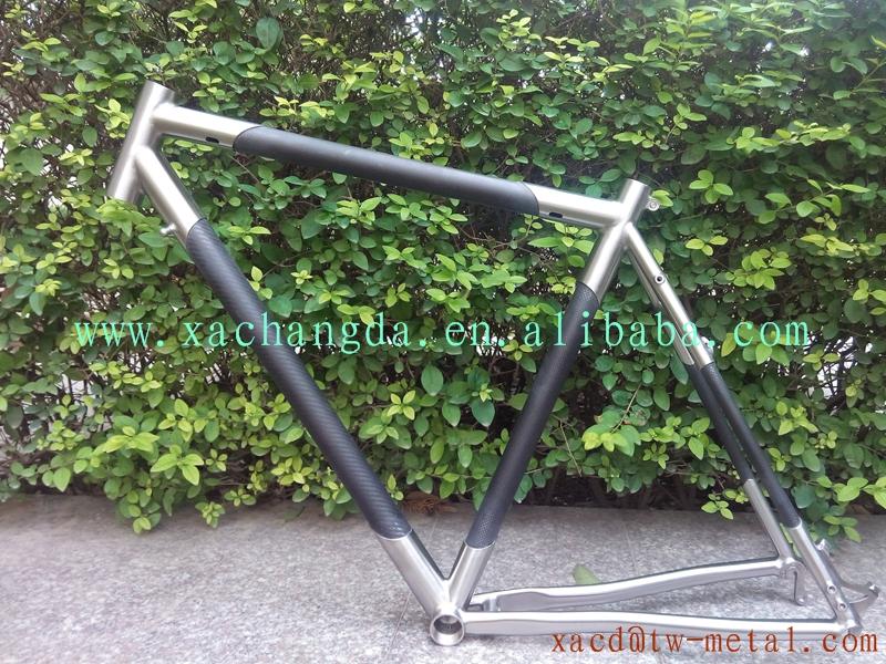 Chinese Titanium Road Bike Frame Carbon Fiber Road Bike Frame With ...