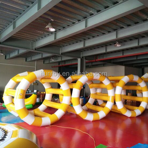 Inflatable Water Roller Wheel for sale/inflatable beach toys adults/inflatable water park games