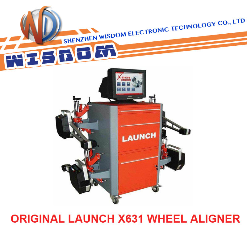 launch x631 wheel aligner software